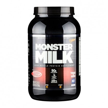 Cytosport Monster Milk Strawberries & Cream, Pulver