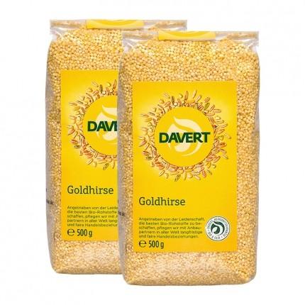 Davert Bio Goldhirse (2 x 500 g)