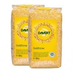 2 x Davert Bio Goldhirse