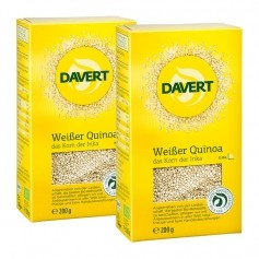 2 x Davert Bio Weisser Quinoa
