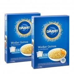2 x Davert Bio Weißer Quinoa im Kochbeutel