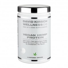David Kirsch Vegan Hemp Protein