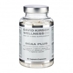 David Kirsch Wellness Co BCAA Plus, Kapseln