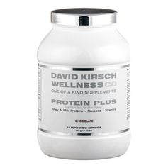 David Kirsch Wellness Co Protein Plus Chocolate