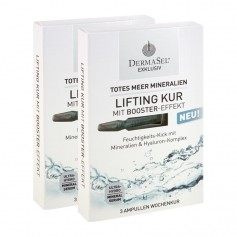 DermaSel, Cure de Lifting de la Mer Morte, lot de 2