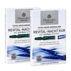 Dermasel, Cure revitalisante nuit de la Mer Morte, lot de 2