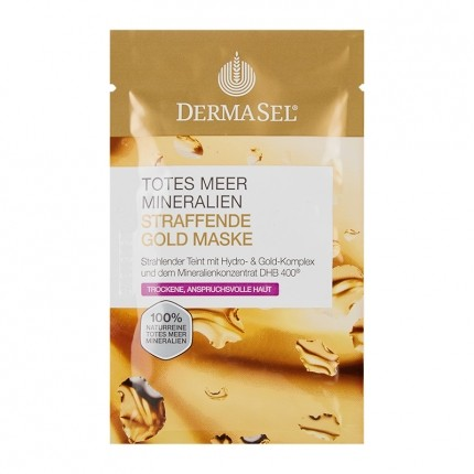 DermaSel Exclusive Dead Sea Gold Rush Mask