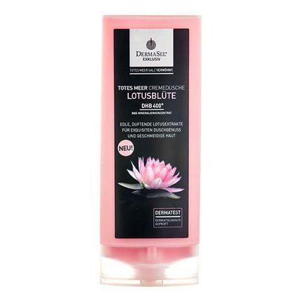DermaSel Exklusiv Totes Meer Duschpflege Lotusblüte