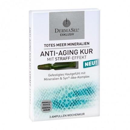 DermaSel Exklusiv Totes Meer Mineralien Anti-Aging Kur (3 Ampullen)