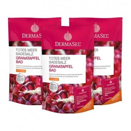 Köpa billiga DermaSel SPA Badsalt från Döda havet med granatäpple online
