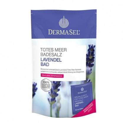 3 x DermaSel SPA Totes Meer Badesalz Lavendel Bad