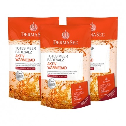 DermaSel SPA Dead Sea Salt Active Warm Bath Salts