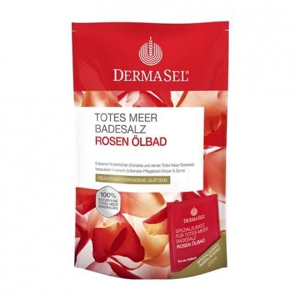DermaSel SPA Dead Sea Salt Rose Charm Bath Salts
