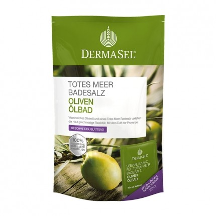 DermaSel SPA Dead Sea Salt Olive Oil Bath Salts