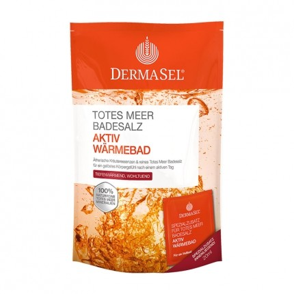 DermaSel SPA Dead Sea Salt Active Warm Bath Salts