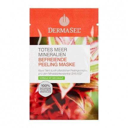 DermaSel SPA Dead Sea Peeling Face Mask