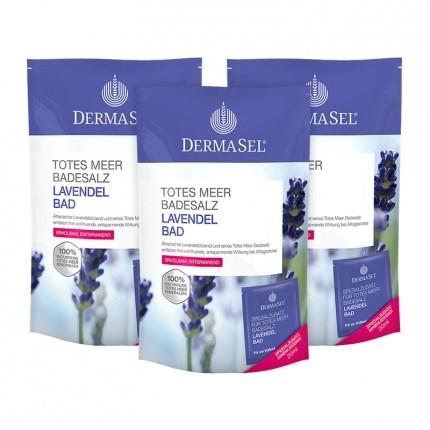 DermaSel SPA Dead Sea Salt Lavender Bath Salts