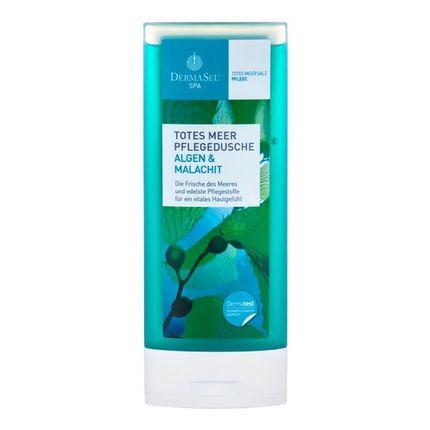 Köpa billiga DermaSel SPA Hälsodusch från Döda havet med alger + malakit online