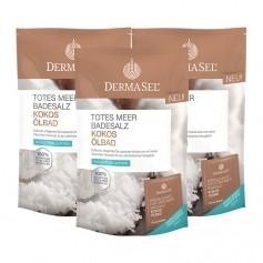 DermaSel Totes Meer Badesalz Kokos Ölbad