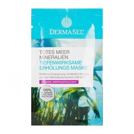 3 x DermaSel SPA Totes Meer Pflegemaske Erholung