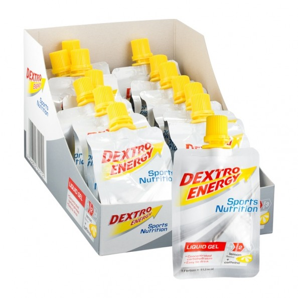 Dextro Energy Liquid Gel Lemon + Caffeine