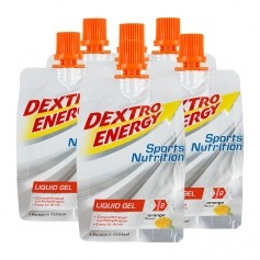 6 x Dextro Energy Liquid Gel Orange