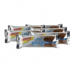 6 x Dextro Energy Protein Crisp Chocolate, Riegel
