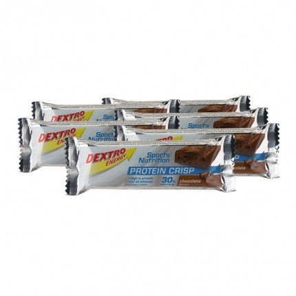 6 x Dextro Energy Protein Crisp Chocolate, Riegel