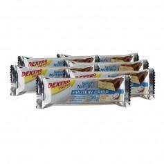 6 x Dextro Energy Protein Crisp Vanilla-Coco, Riegel