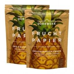 Dörrwerk Fruchtpapier, Ananas-Apfel