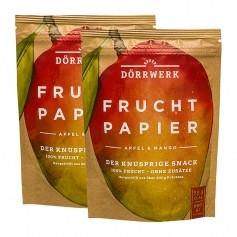 Dörrwerk Fruchtpapier, Mango-Apfel