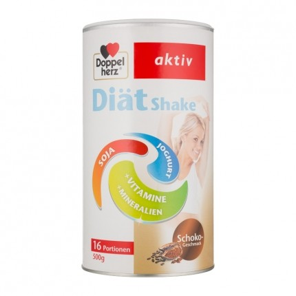 Doppelherz aktiv Diät Shake, Schokolade, Pulver