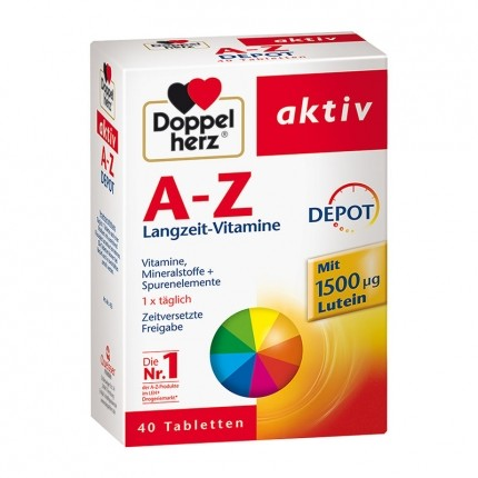 Doppelherz, Dépôt A-Z, comprimés