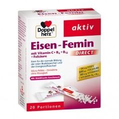 Doppelherz Eisen-Femin, Direktgranulat