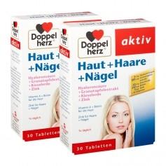 2 x Doppelherz Haut + Haare + Nägel, Tabletten