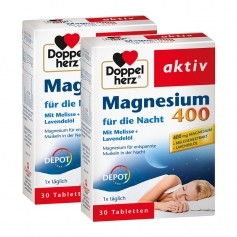 Doppelherz Magnesium 400 für die Nacht