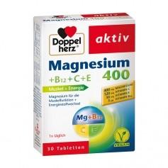 Doppelherz Magnesium mit Vitamin C und E, Tabletten