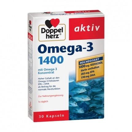 Doppelherz Omega-3 1400, Kapseln