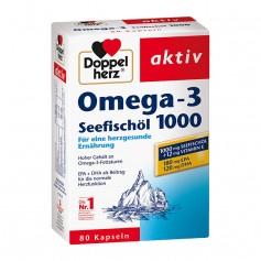 Doppelherz Omega-3 Seefischöl 1000 mg, Kapseln