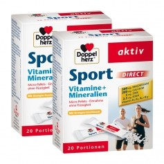 Doppelherz Sport Direct Doppelpack, Direktgranulat