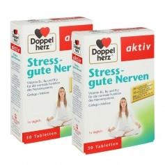 Doppelherz, Stress & nerfs solides, comprimés, lot de 2