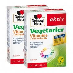 Doppelherz Vegetarier Vitamine + Mineralstoffe