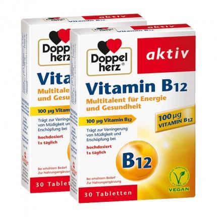 Doppelherz Vitamin B12 (2 x 30 Tabletten)