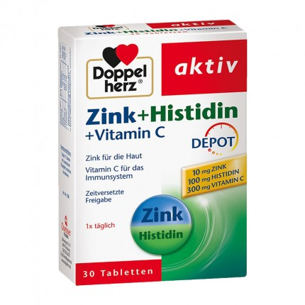 Doppelherz Zink + Histidin Depot (30 Tabletten)