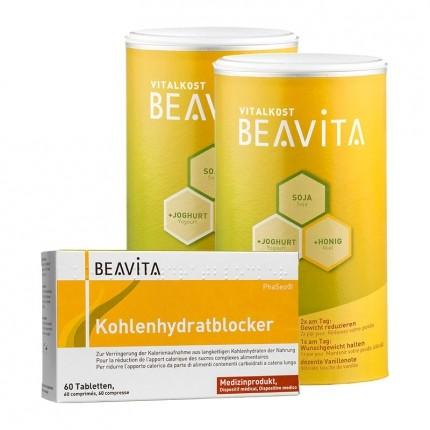 Doppelpack Beavita Vitalkost + Kohlenhydratblocker