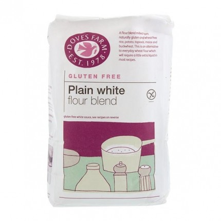 Doves Farm Gluten & Wheat Free Plain White Flour