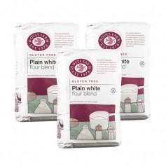 3x Doves Farm Gluten & Wheat Free Plain White Flour