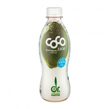 Dr. Antonio Martins Bio Coco Juice, Kokoswasser (330 ml)