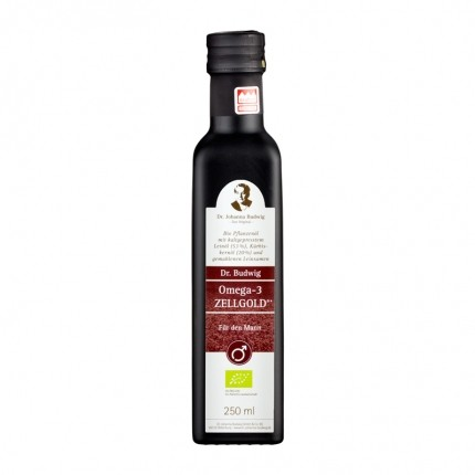 Bio Omega-3 Zellgold – Für den Mann, Öl (250 ml)