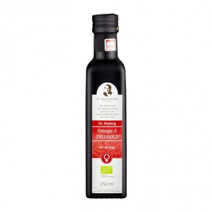 Bio Omega-3 Zellgold – Für die Frau, Öl (250 ml)